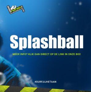 Promotie afbeelding van Sp;ashball van Paintball Hillegom